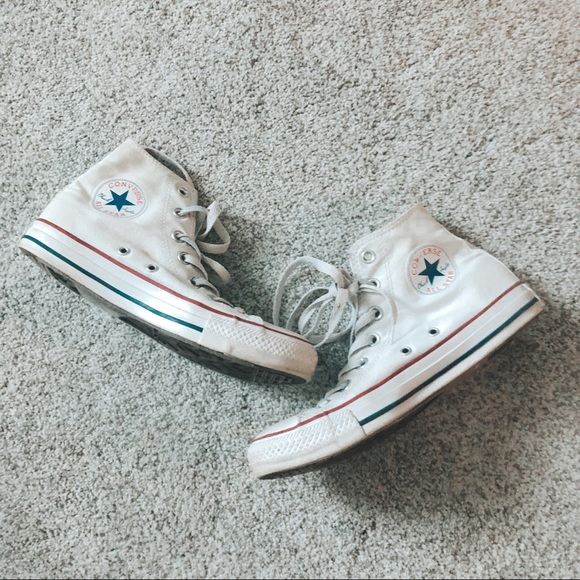 Converse Shoes - Converse White Chuck Taylor All Star High Top